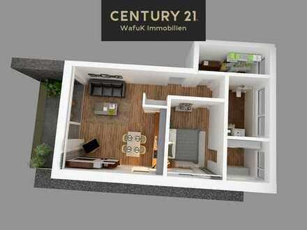 Großzügige 2-Zimmer Neubauwohnung mit Dachterrasse in Hildesheim