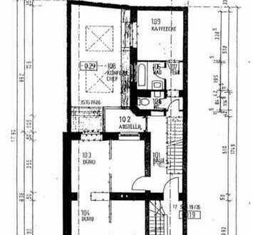 Wohnen am Rheinau-Hafen: großzügige drei Zimmer Wohnung mit Loft-Ambiente