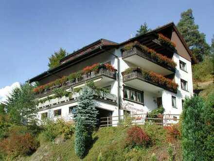 Pension in idyllischer Lage mit herrlichem Blick in den Schwarzwald