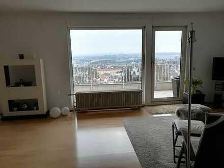 3 Zimmer Wohnung in Spitzenlage mit herrlichem Blick auf Bad Nauheim,drei Zimmer Wohnung