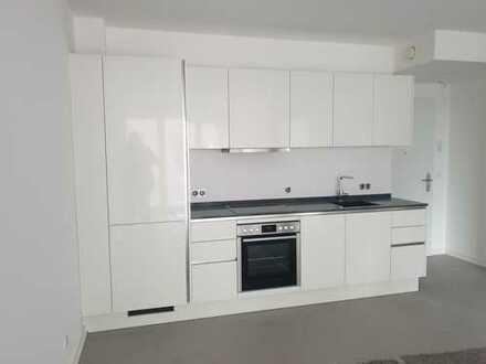 Neubau/Erstbezug - Kompakte 2-Zimmer-Wohnung mit Balkon am Wandsbeker Quarree zu vermieten