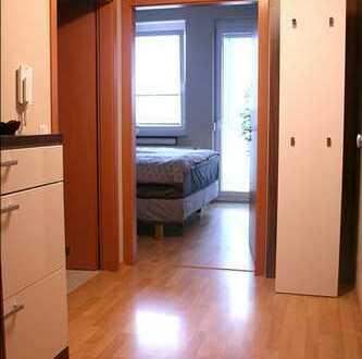 Möbilierte zentral gelegene 2 Zimmer Wohnung