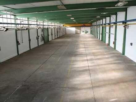Rudat Immobilien: Bis zu 1.142 m² Hallenfläche mit Kran. Büro- und Freifläche nach Bedarf!