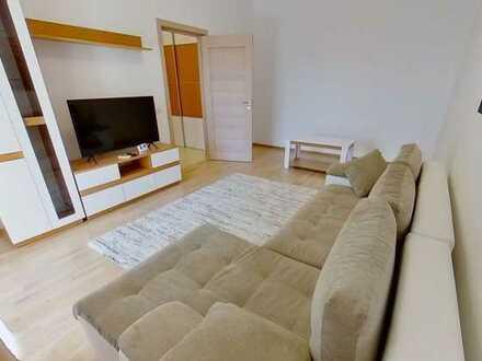 Modernisierte 2-Raum-Wohnung mit Balkon und Einbauküche in Bad Saulgau