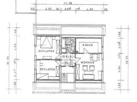 3 Zimmer DG Whg in einem 3 Fam. Haus