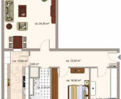 freundliche 3-Zi-Wohnung am Wiesengrund