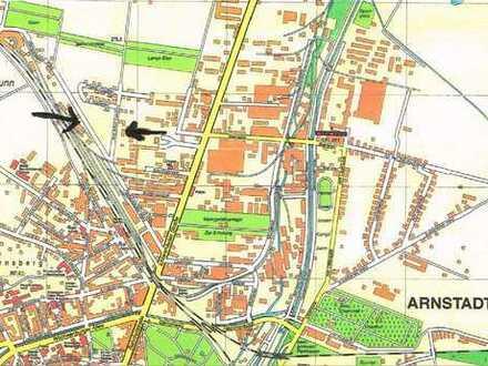 Großes Baugrundstück am Hauptbahnhof in Arnstadt zu verkaufen