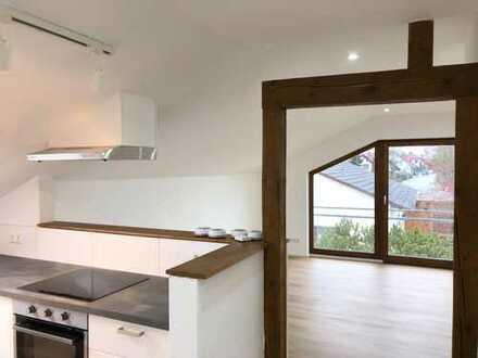Erstbezug 3 Zimmer Dachgeschosswohnung mit toller Ausstattung