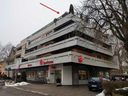 Frisch renovierte 3,5-Zimmer-Penthouse-Wohnung mit großer Dachterrasse und Balkon in Bad Dürrheim