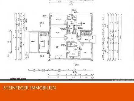 Bad Nauheim: Ca. 153 m² große Etagenwohnung mit großem Balkon und Garage im Alleinauftrag