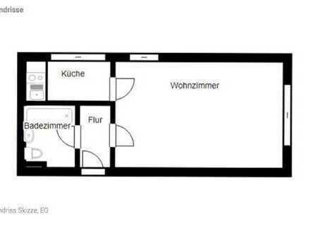 *** Gemütliche 1 Zi.-Wohnung in Ammerbuch ***