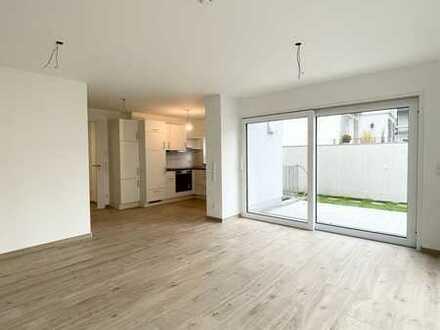 Seenahe Neubau-Wohnung mit großzügiger Terrasse