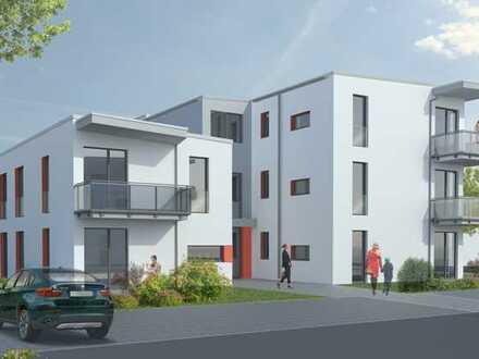 NEUBAU! 4-R-Wohnung mit Terrasse, Gartenanteil, Keller, Rollläden etc.