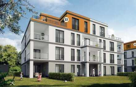***VERKAUFT***Lifestyle im Stadtquartier Südlich Marien* Neubau Penthousewohnung in Papenburg!