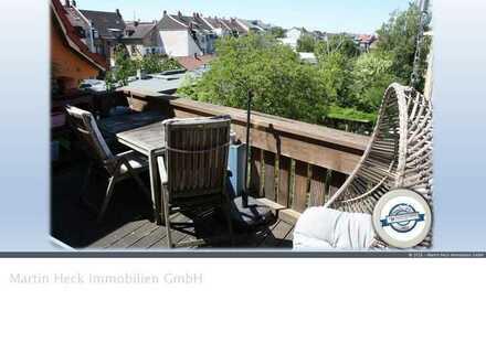4 Zimmer Dachgeschoss-WHG mit Sonnenbalkon in Karlsruhe-Beiertheim nahe Albtalbahnhof