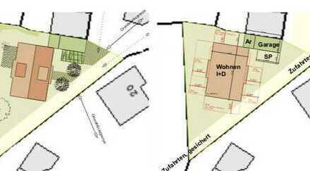 Ruhig gelegenes Grundstück für Einfamilienhaus, mit ca. 150qm Wohnfläche bebaubar