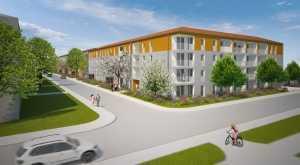 MÜNCHEN-MODELL-2-Zimmer-ROLLSTUHLFAHRER-Wohnung in Harthof