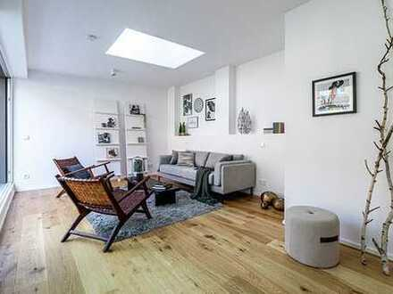 Exklusives Reiheneckhaus im Innenhof mit gehobener Ausstattung und Dachterrasse