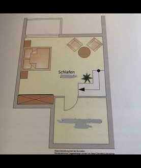 Modernisierte 2,5 Maisonette Wohnung mit Garten&Terrasse Einbauküche in Kronau
