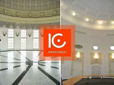 Eventlocation an der KARLI mit Konferenzraum, Kuppelsaal mit 360°- Rundblick über Leipzig