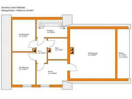 Schöne 2,5 ZKB-Wohnung in Meitinger Wohnviertel