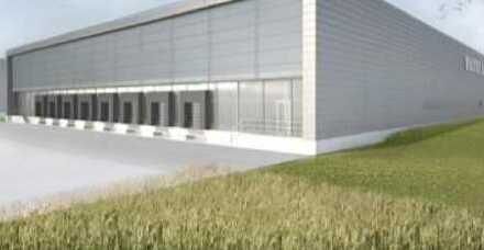"""BAUMÜLLER & CO."" 20.000 m² NEUBAU Logistikfläche"