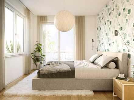 Elegante 4-Zimmer-Wohnung mit Süd-West Loggia im Stadtbezirk Altstadt