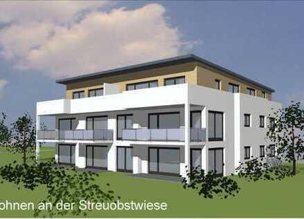 Exklusive 2 Zi-Eigentumswohnung im OG mit Balkon- Wohnen an der Streuobstwiese (Haus C Wo 5)