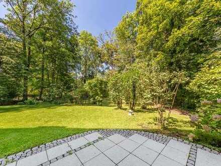 Wungerschöne Gartenwohnung in Bestlage von Obermenzing