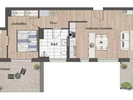 Erstbezug mit Balkon & Terrasse: 2,5-3 Zimmer-Wohnung in Kuppenheim