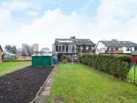 4-Zi.-DHH mit Urlaubsflair: Charmante Wohnoase mit großem Garten an der Nordsee