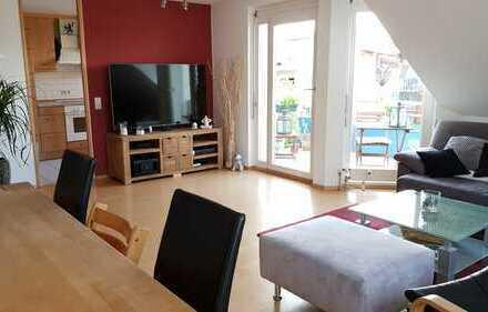 Helle 4,5-Zimmer Maisonette-Wohnung mit Balkon und Einbauküche in ES Berkheim
