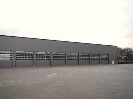Neue Gewerbehalle, gute Verkehrsanbindung!