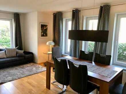 Karlsruhe: möbliertes 2-Zi.-Appartment mit Tiefgarage