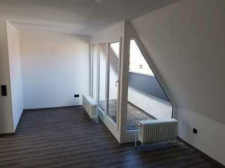 Lichtdurchflutete, hochwertige 1-Zimmer-Wohnung