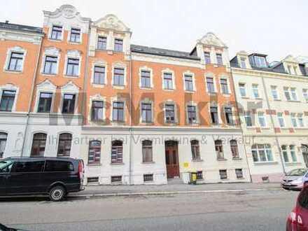 Kapitalanlage in guter Lage: Drei 2-Zi.-Wohnungen mit Balkon und Terrassen in Chemnitz-Gablenz