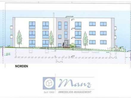 Neubauwohnanlage in Böhringen mit 12 Einheiten und Tiefgarage, provisionsfrei - 3,5 Zimmer mit 101,
