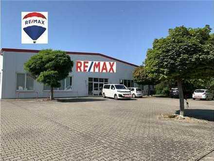 RE/MAX - Top Großraum-Halle mit Einfamilienhaus in Top Lage in 55559 Bretzenheim