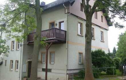 schöne 2-Raum Wohnung mit Kaminanschluß, großem Balkon und großem Garten zu vermieten