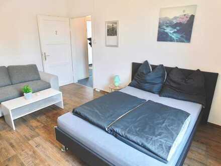 Möbiliertes Zimmer in der Innenstadt von Augsburg - Dauerhaft oder befristet