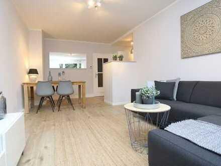 Komplett möblierte, sehr schöne 2-Zimmer-Wohnung im beliebten Flingern Nord / Furnished apartment