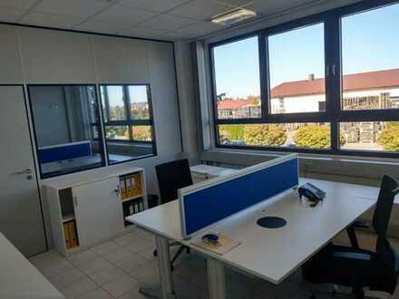 6 moderne zweier Büros zu vermieten