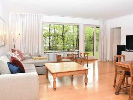 Elegante 3 Zimmer Gartenwohnung in der Menterschwaige