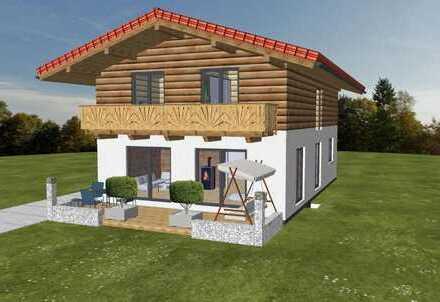 Bezugsfertiges Holzhaus in ruhiger Ortsrandlage