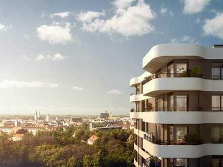 Über den Dächern der Stadt! 2-Zi.-Wohnung mit innovativen Ausstattungsdetails und 2 Balkonen