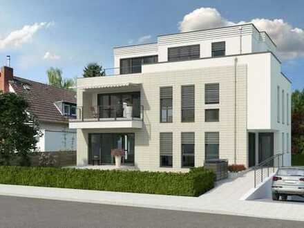 Hollenders Immobilien: Exklusive Neubau-Penthauswohnung mit Rheinblick in sehr guter Lage von Sürth