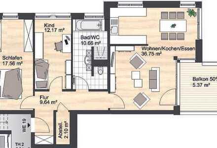Wohnen in exklusiver Lage auf dem Kaßberg (WE 19)