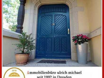 """* Ihr """"EFH"""" im Dach * Dachloggia ~ Fernblick * eigener Garten * am Loschwitzer Elbhang *"""