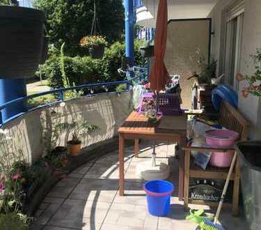 Tolle 4-Raum-EG-Wohnung mit EBK und Balkon in Dresden