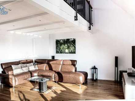 Hochwertig möblierte 4 Zimmer Maisonette Wohnung in Düsseldorf-Wersten mit Tiefgaragenstellplatz